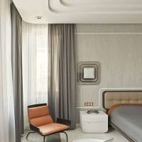 футуризм в дизайне гостиной в ярком цвете картинка