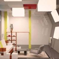 футуризм в стиле квартиры в необычном цвете фото