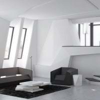 футуризм в декоре квартиры в светлом цвете картинка
