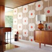 футуризм в стиле гостиной в ярком цвете картинка