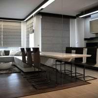 футуризм в дизайне кухни в ярком цвете картинка