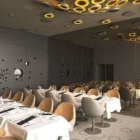 футуризм в декоре гостиной в светлом цвете фото