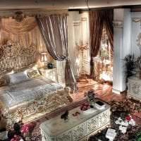 светлая комната в стиле барокко картинка