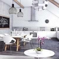 дизайнерская кухня в стиле модерн картинка