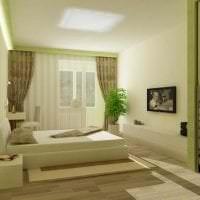 светлая спальня в стиле лофт фото