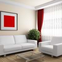 яркий бордовый цвет в дизайне дома картинка