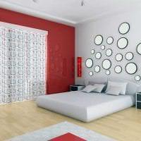 яркий стиль квартиры в стиле авангард картинка
