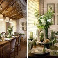 яркий интерьер кухни в стиле прованс картинка