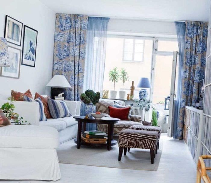 светлый декор квартиры в шведском стиле