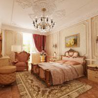 яркий дизайн квартиры в стиле барокко фото