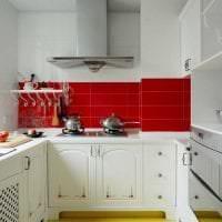 темный интерьер элитной кухни в стиле арт деко картинка