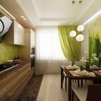 светлый дизайн элитной кухни в стиле классика фото