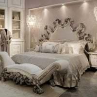красивый стиль ванной в стиле барокко картинка