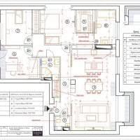 светлый эргономичный дизайн коридора фото