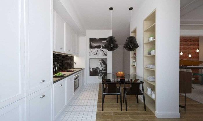 яркий эргономичный интерьер квартиры