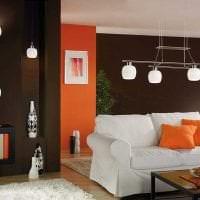 светлый интерьер гостиной в стиле авангард картинка