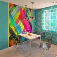 необычный декор квартиры в стиле авангард фото