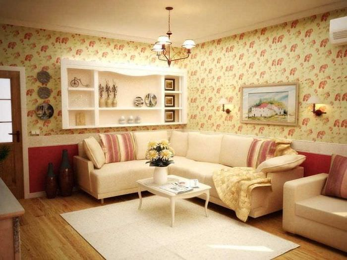 яркий стиль квартиры в стиле прованс