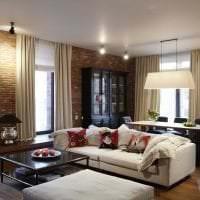 необычный стиль квартиры в стиле фьюжн картинка