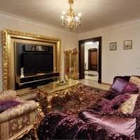 красивый декор квартиры в стиле барокко фото