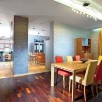 красивый дизайн коридора в стиле фьюжн картинка