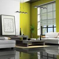 светлый стиль квартиры в стиле авангард картинка