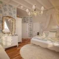 необычный декор спальни в стиле прованс фото