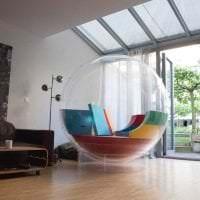 прозрачное стекло в дизайне детской картинка
