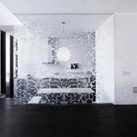 прозрачное стекло в дизайне прихожей фото