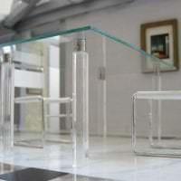 отражающее стекло в дизайне детской фото