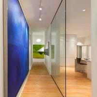 прозрачное стекло в стиле квартиры картинка