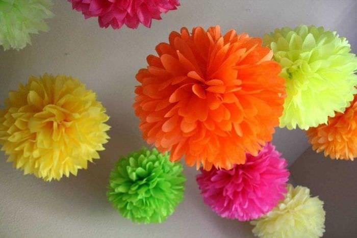 Цветы для дня рождения своими руками