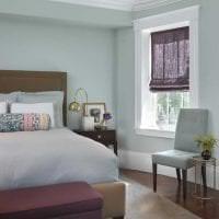 сочетание сиреневого цвета в интерьере квартиры картинка