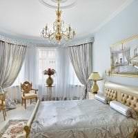 современный дизайн гостиной в стиле рококо картинка