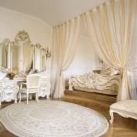 красивый стиль гостиной в стиле рококо картинка