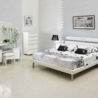 светлая белая мебель в стиле коридора фото