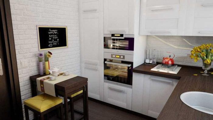 красивая кухня в стиле авангард
