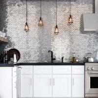 светлый стиль кухни в стиле гранж картинка
