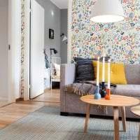 красивый стиль кухни в шведском стиле картинка