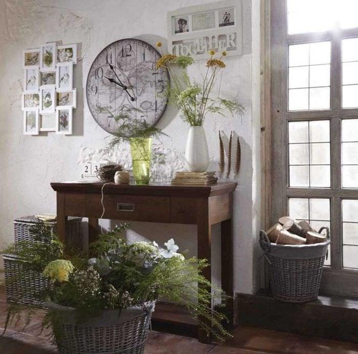 красивый интерьер квартиры в стиле гранж