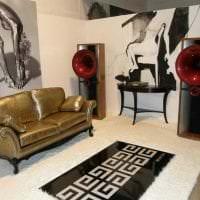светлый интерьер квартиры в стиле авангард картинка