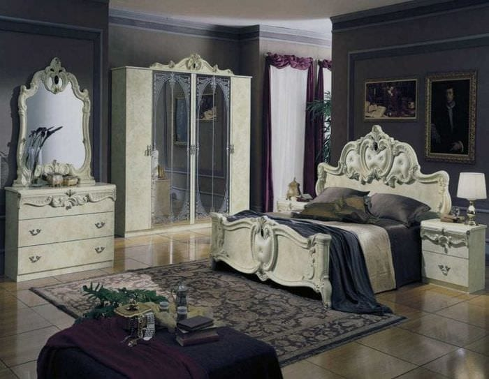 яркий стиль дома в стиле рокко