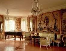 яркий стиль квартиры в стиле рококо фото