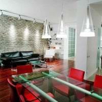 красивый декор гостиной в стиле авангард картинка