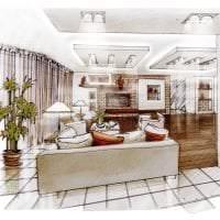красивый эргономичный дизайн коридора фото