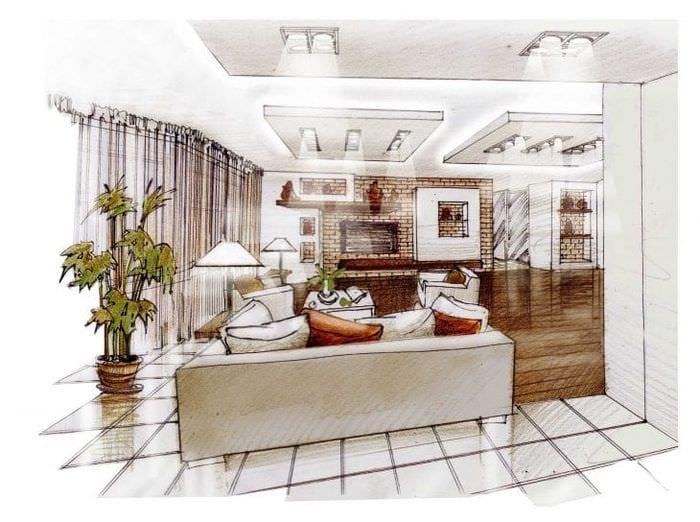 Дизайн проект квартиры в Москве 99