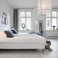 яркий интерьер квартиры в шведском стиле фото