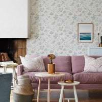 необычный дизайн спальни в шведском стиле фото