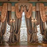 красивый интерьер спальни в стиле барокко фото