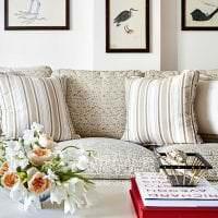 уютный светлый дизайн спальни картинка